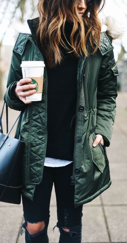 fall-fashion-military-green-jacket-1